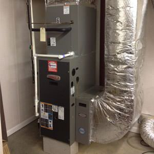 gas heating in Northwest Arkansas