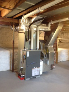 New furnace installed in Springdale