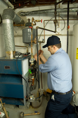 Furnace service performed by expert HVAC contractor in Springdale