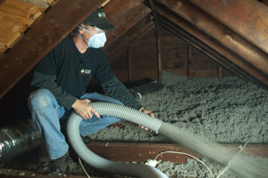 Cellulose Insulation Installation In Northwest Arkansas