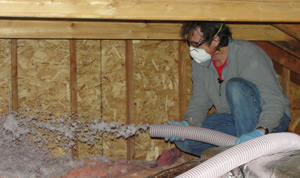 Fiberglass insulation installed Arkansas